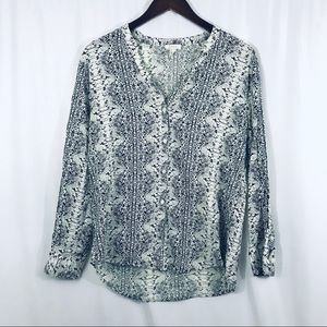 Joie SOFT Dane snake print blouse medium - EUC